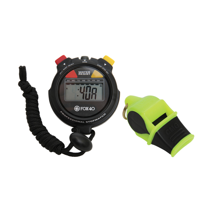 Fox 40 Whistle + Stopwatch product image
