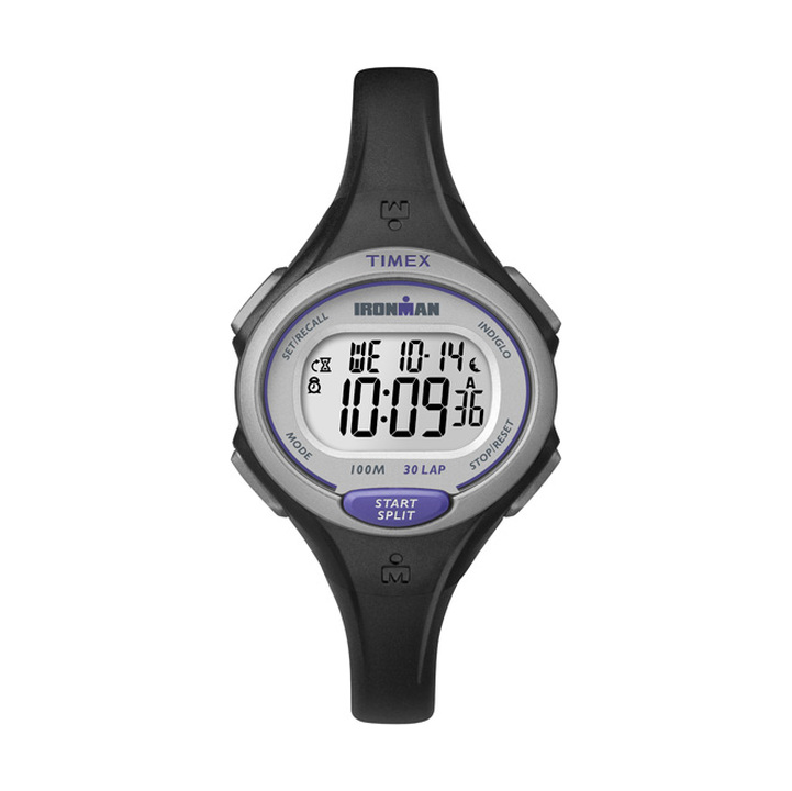 Timex IRONMAN Essential 30 Lap Mid Size Watch Black/Purple product image