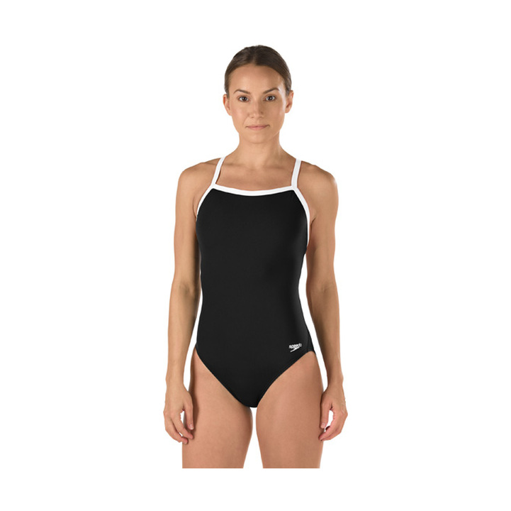 Speedo Solid Polyester Flyback Female product image