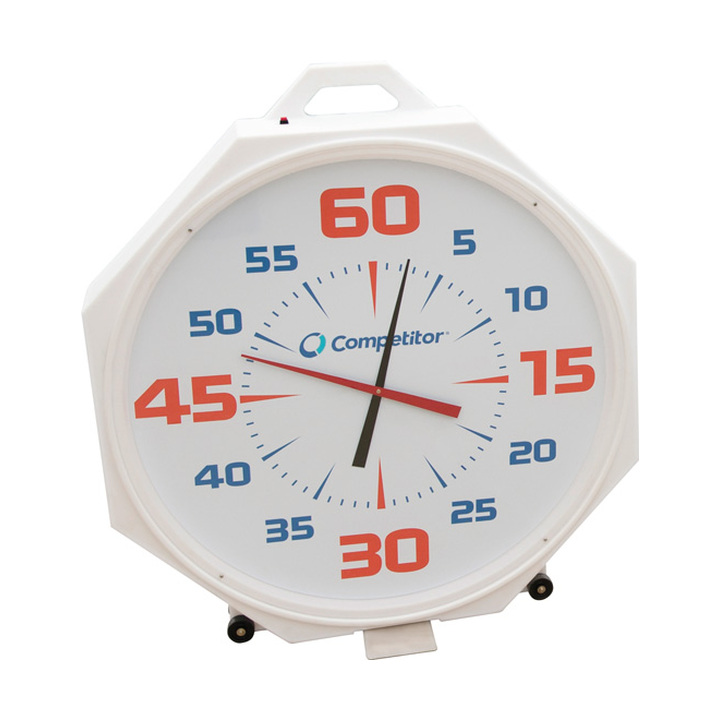 Competitor 37in Battery Pace Clock White product image