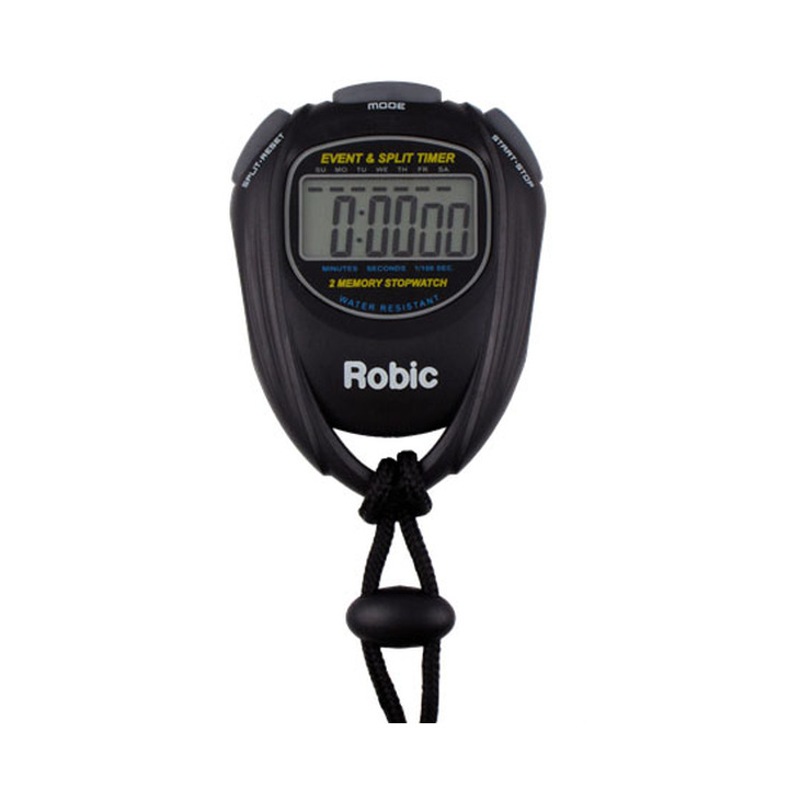 Robic Single Event Timer and 2 Memory Recall Split Stopwatch product image
