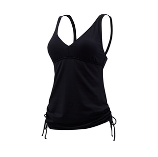 Tyr V-Neck Tankini Top SOLID