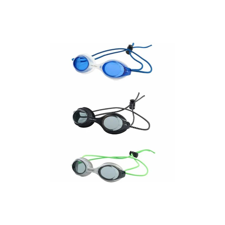 Dolfin Bungee Racer Goggle Multi 3-Pack product image