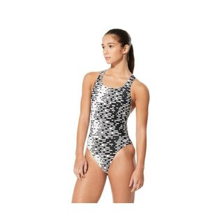 Speedo Womens Modern Matrix Super Pro One Piece Swimsuit