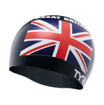 TYR Great Britain Silicone Swim Cap product image