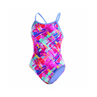 Dolfin Uglies Basket Case V-2 One Piece Swimsuit