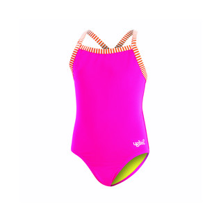 Dolfin Uglies Girls' Solid One Piece Swimsuit