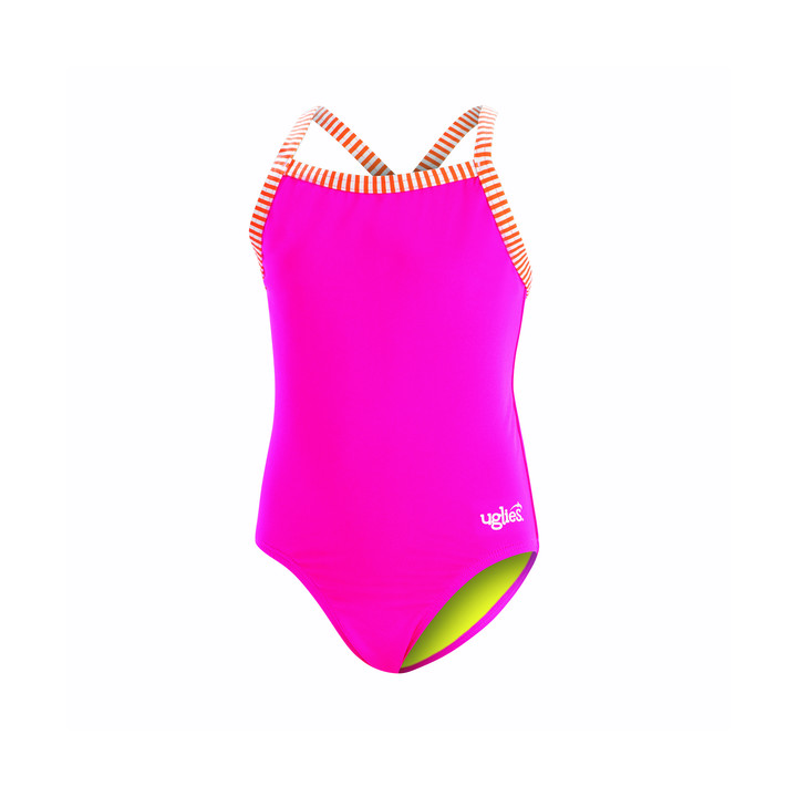 Dolfin Uglies Girls Solid 1-Piece product image