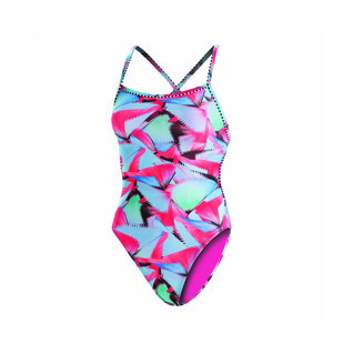 Dolfin Uglies Revibe Fancy Tie Back One Piece Suit