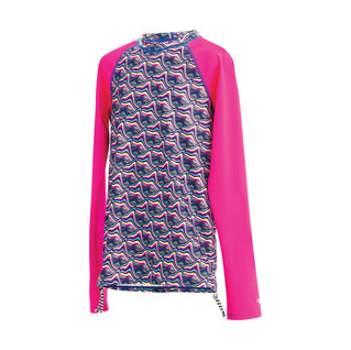 Dolfin Girl's Uglies Candy Mountain Rash Guard