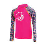 Dolfin Little Uglies Candy Mountain/Pink Printed Mock Neck Long Sleeve Rash Guard product image