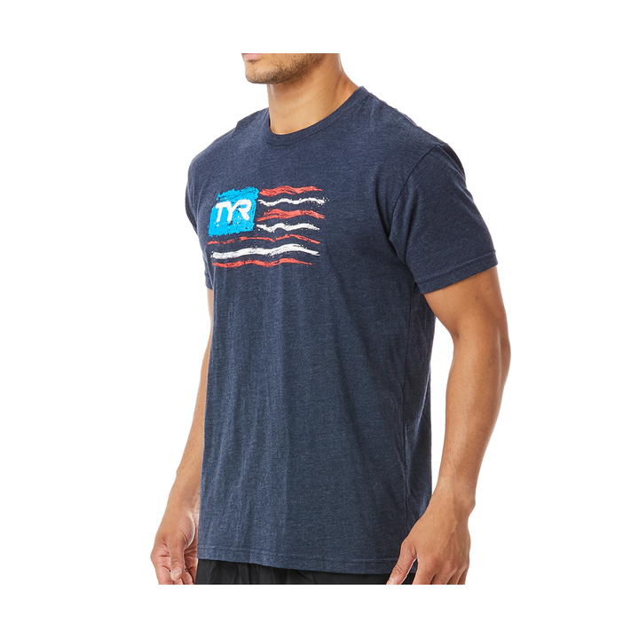 Tyr Let Freedom Swim Graphic Tee Male product image