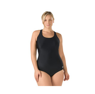 Speedo Plus Size One Piece Moderate Ultraback