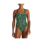 Nike One Piece Swimsuit Pixel Party Spiderback