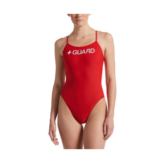 Nike Guard Cut-Out One Piece Swimsuit