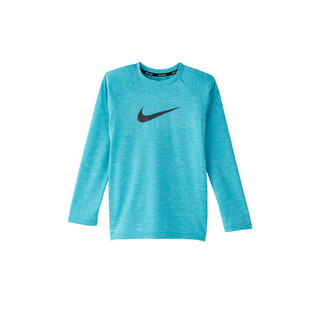Nike Boys' Heather Long Sleeve Hydroguard Swim Top