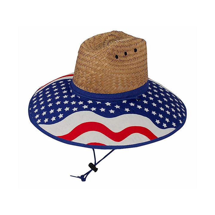 WET Products Lifeguard Hat USA Overbrim Flexfit product image