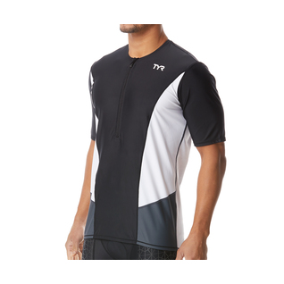 TYR Men's Triathalon Competitor Short Sleeve Top