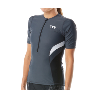 TYR Women's Triathalon Competitor Short Sleeve Top