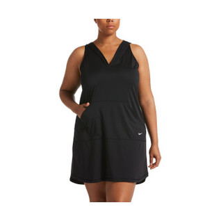 Nike Plus Size Swimsuit Cover Up Hooded Dress