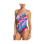 Nike Immiscible Lace Up Tie Back One Piece Swimsuit