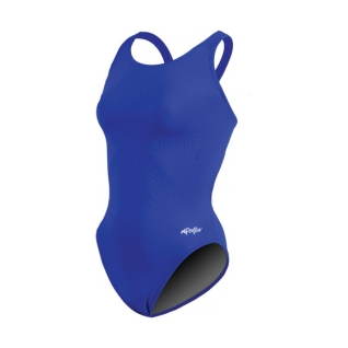 Dolfin Solid Xtra Life Lycra HP Back One Piece Swimsuit